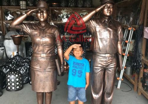 Projek Patung Tembaga Badan Diklat Kejaksaan Republik Indonesia