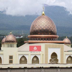 Kami Kontraktor Kubah Masjid, Bersedia Menerima Order & Pemasangan di Kabupaten Way Kanan